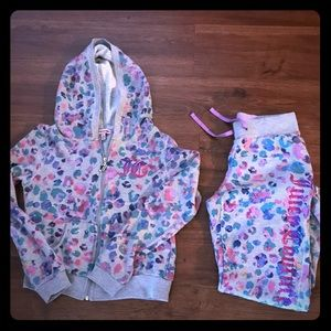 girls sweatsuit
